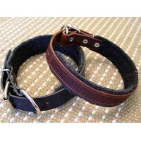 Embroidery Leather Collar GCDC-05HH Manufactures