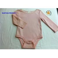 New Styling Cute Baby Girl Rompers , 100% Cotton Baby Girl Long Sleeve Onesies Manufactures