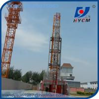 Construction Building Hoist 4 ton Elevator with Spare Parts and VFD Manufactures
