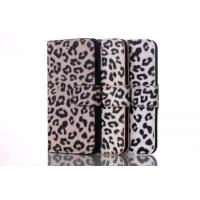 iPhone 6 Fashion Case, iPhone 6 PU Sexy Leopard Printed + PC Holder Cover Case Manufactures
