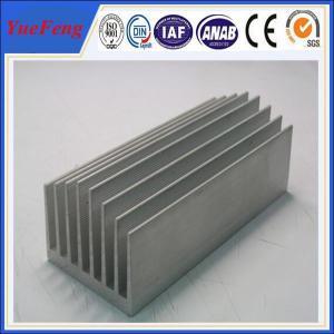 Aluminium extrusion for industrial supplier , Anodized Extruded Aluminium Heatsink Manufactures