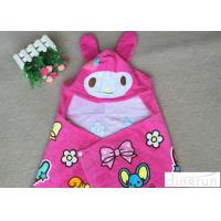 Lightweight Convenient Hooded Poncho Towels Breathable Lovely 60*120cm Manufactures