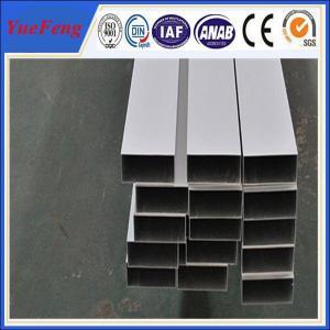 Hot!6063 t5 extrusion aluminium price, aluminium pipes tubes manufacturer Manufactures