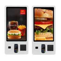 China Terminal Restaurant Digital Signage Order Touch Screen Kiosk Android Payment Kiosk on sale