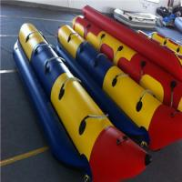 Durable 0.9mm PVC Material Inflatable Water Banana Boat Manufactures