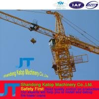 1250kN.m Rated lifting moment New technology reliable Electric Tower crane QTZ125-TC6018 Manufactures