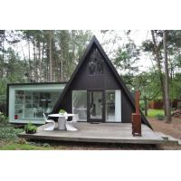 Prefab House Kits , Modern Light Steel Frame Bungalow,Holiday resort triangle house, mobile house,wooden house Manufactures