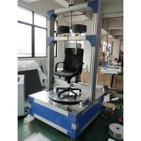 Quality PLC Control Chair Swivel Durability Test Instrument , No Impact , Truly Simulate for sale