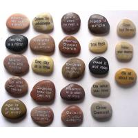 engraved stone, carving pebble Manufactures