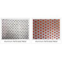 round hole punching mesh/square punching meshes/best selling perforated metal