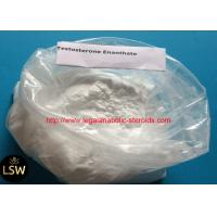 China White Cutting Cycle Steroids Powder CAS 315-37-7 Testosterone Enanthate For Fast Muscle on sale