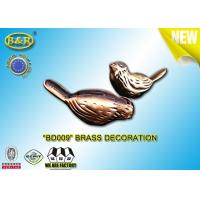 No BD009 Brass Tombstone Yard Decorations Bird Pair Shape Material Copper Alloy Manufactures