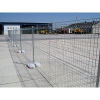 Hot Dipped Galvanized Temporary Fence/Removable Fence PVC coating temporary fence/galvanized welded wire mesh fence Manufactures