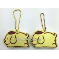 Silicone Key Cover high quality custom 3D soft PVC key chain silicone key rings holder Manufactures