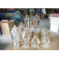 Promotional Transparent Ice Sculpture Customized For Science And Technology Museum Manufactures