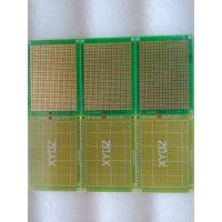 China Education DIY Single Sided Pcb Green Universal Circuit Board on sale