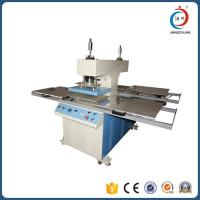 Hydraulic Embossing Four Station Automatic Heat Press Machine For Garments OEM Manufactures
