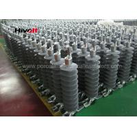 46KV Horizontal Composite Line Post Insulator With Clamp Top And Gain Base Manufactures