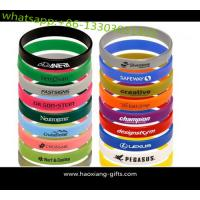 China factory directly wholesale cheap custom silicone wristbands no minimum on sale
