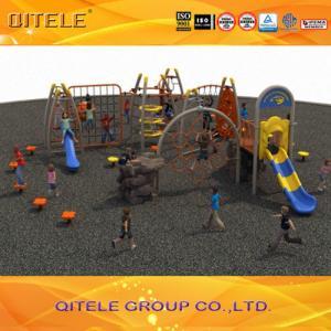 Quality Safe Kids Outdoor Gym Equipment Children Cargo Net Traverse 1210 X 1190 X 330cm for sale