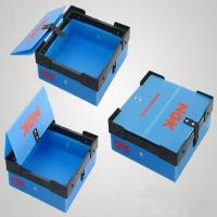 Colorful Collapsible Waterproof PP Turnover Box Coroplast Box For Supermarket Manufactures