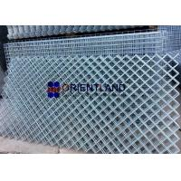 China Rhombus Opening Hot Dipped Galvanized Welded Wire Mesh , Stainless Steel Wire Mesh Panels on sale