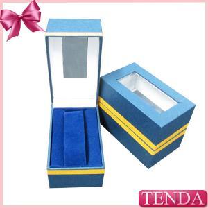China Cheaper Cost Ladies Students Kids Children Gilrls Boys Metal Collar Wrist Watch Box with PVC Window on sale