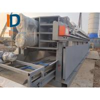 automatic filter press used in construction site equipped with hydraulic plunger pump Manufactures