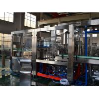 Liquid Water Bottle Packing Machine / Gas Carbonated  Drink Filling Machine Aseptic Filling Equipment Manufactures