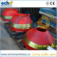 Terex Pegson cone crusher wear consumable parts for aggregate plant Manufactures