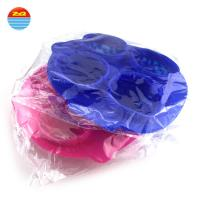 Summer hot sale Four squares Brain silicone ice cube tray for Making ice cream Manufactures