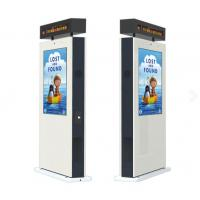 Indoor LCD Advertising Display Touch Screen , High Brightness Lcd Monitor 32 Inch Manufactures