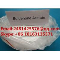 Safe Raw Boldenone Muscle Growth Steroids Boldenone Acetate Powder CAS 2363-59-9 Manufactures