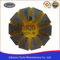 China Professional 75mm Diameter Turbo Cup Diamond Grinding Wheels For Concrete And Stone on sale