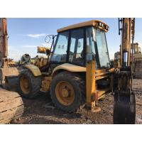 China JCB 4CX 4WD Used Backhoe Loader , Compact Backhoe Loader No Oil Leakage on sale