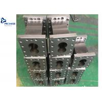 China ELemen Twin Screw Extruder Machine Parts Resistance Kneading Block Mixing Screw on sale