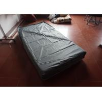 Polyester Pvc Mattress Protector Zippered / Queen Size Mattress Protector Manufactures