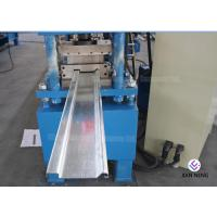 Galvanized Type C / Z Purlin Roll Forming Machine With Hydraulic Cutting System Manufactures
