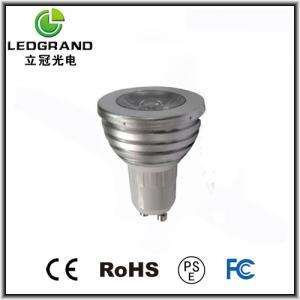 49mm 90V - 240V 1W LED Spot Lamps LG-DB-1001B (E14, E27, GU10, B22) Manufactures