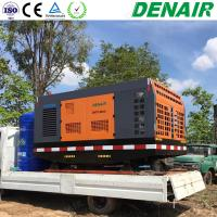 250/350 Cfm Diesel Engine Air Cooled Mobile Air Compressors Manufactures