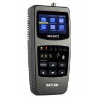 Hot sales SATLink WS-6933 FTA Satellite Ultra-Fast Compact DVB-S DVB-S2 Signal Satellite Finder Meter WS6933 with Compas Manufactures