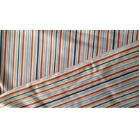 Quality Flame Retardant 180gsm Vertical Striped Fabric / Jersey Cotton Twill Fabric for sale