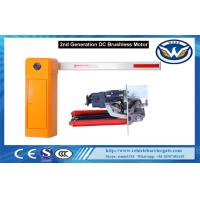 IP44 DC Brushless Automatic Car Parking Barriers System Arm Direction Changed Manufactures