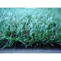 China Artificial Grass Around Swimming Pools Straight / Curly Monofilament Yarn on sale