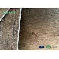 100% Virgin Material SPC Flooring Rigid Core Vinyl Plank With 1.5mm Back Layer Manufactures