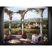 China DZH1270 Modern Best Interior House Paint Scenery Oil Painting with Tree on sale