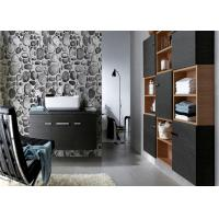 China Riverstones Printing 3d Home brick effect wall covering For Saloon , Sound absorbing on sale