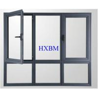 Good Air Tightness Aluminum Tilt And Turn Windows For Villa Projects Manufactures