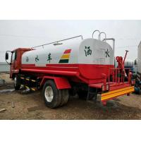 Red Used DONGFENG Water Sprinkler Truck 8 10 12 Cbm LHD With Diesel Fuel Type Manufactures