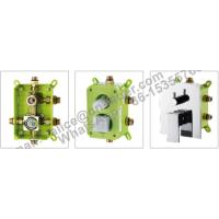 concealed square brass shower faucet,Bathroom best price concealed bath shower mixer tap with diverter